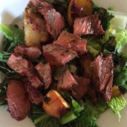 Web steak salad
